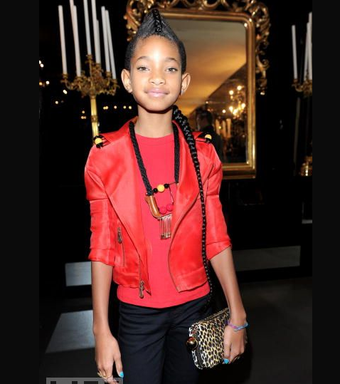 Willow Smith Kiddie Fashionista