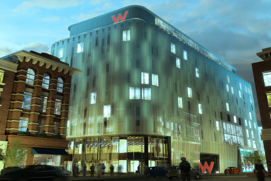 Everyone s going wyld as the w hotel hits london it 39 s for Cool boutique hotels london
