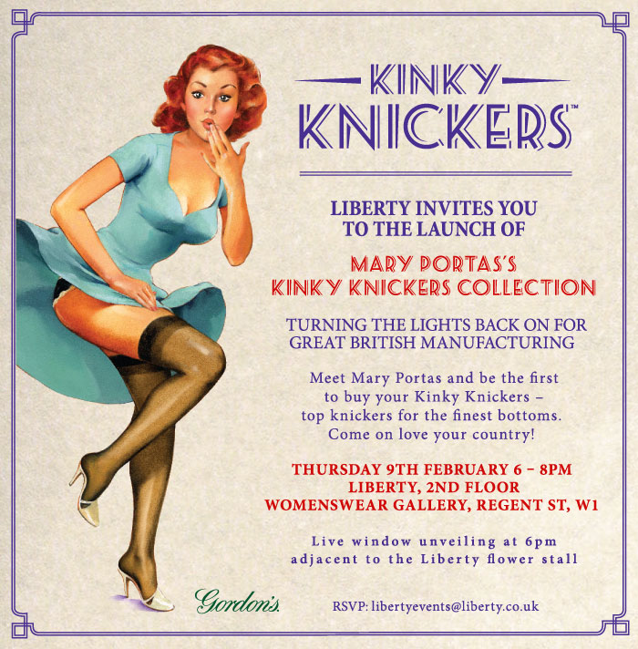 Mary Portas kinky knickers