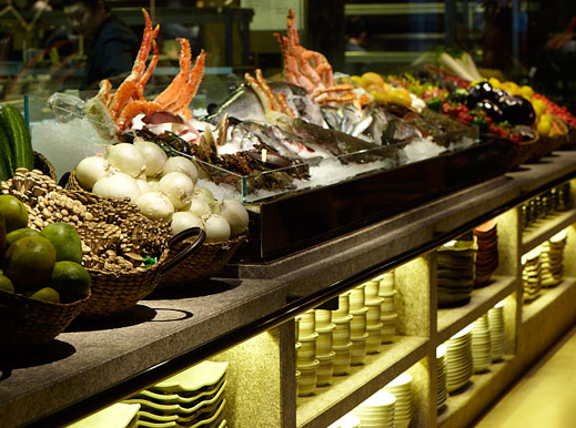 EAST IS EAST: Novikov Asian blends Chinese with Japanese and arrives at an interesting solution