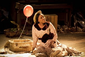 Claudia Kariuki (Sarah) in Ragtime at Regents Park Open Air Theatre (Photo by Johan Persson)