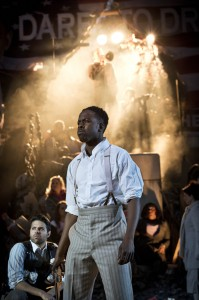 Rolan Bell (Coalhouse Walker) in Ragtime at Regents Park Open Air Theatre (Photo by Johan Persson)