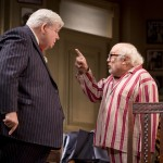 Richard Griffiths (Al Lewis) and Danny DeVito (Willie Clark)