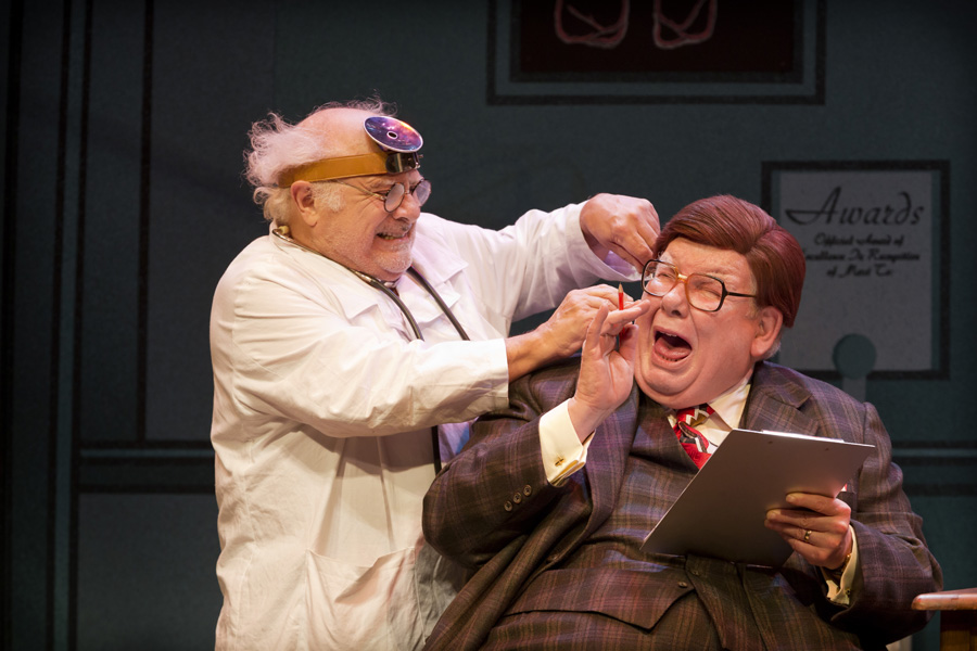 THE ODD COUPLE: Sunshine Boys At The Savoy Theatre