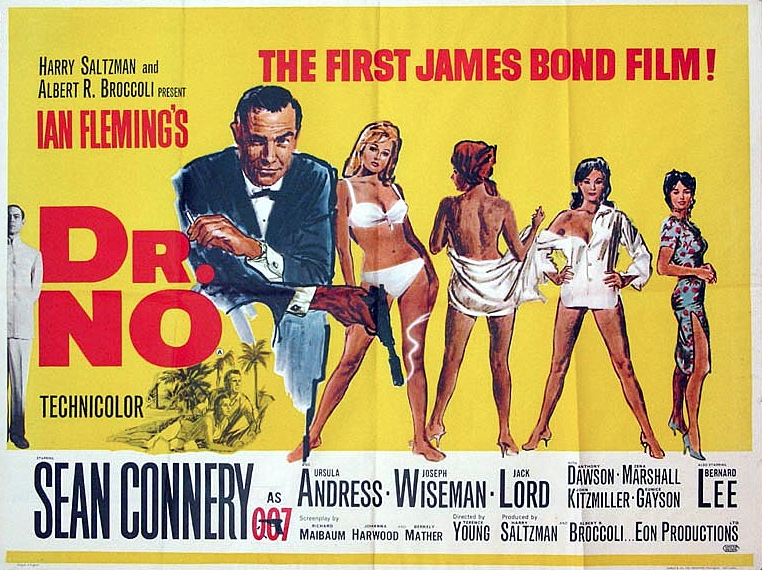 WE LOVE STARING AT: iconic James Bond movie posters