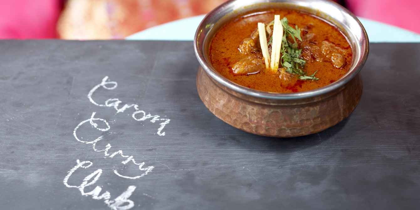 CAROM CURRY CLUB: Tantilise the senses …