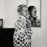 Self-portrait (1928) by Claude Cahun Monochrome print 11.8 x 9.4cm Courtesy of Jersey Heritage Collection/Sumarria Lunn Gallery