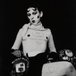 I am in training don't kiss me (1927) by Claude Cahun Monochrome print 11.7 x 8.9cm Courtesy of Jersey Heritage Collection/Sumarria Lunn Gallery