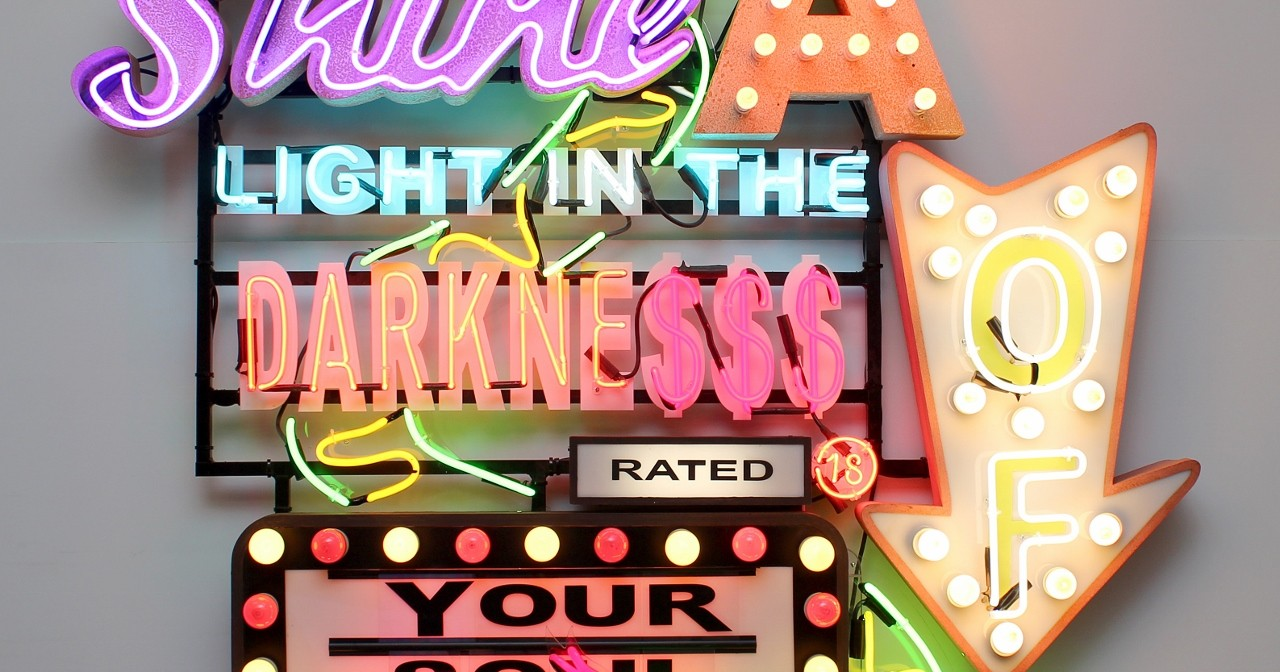 CHRIS BRACEY: Heaven and hell in neon