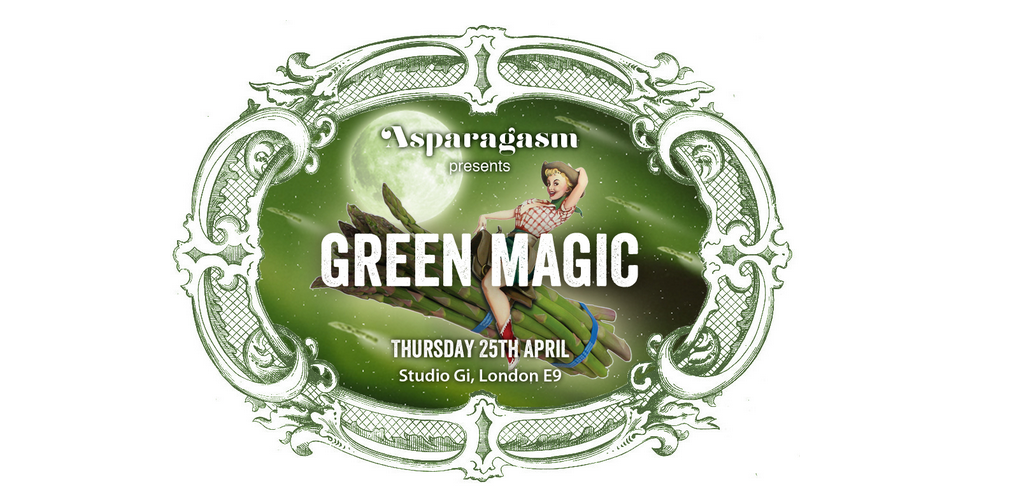 ASPARAGASM: Green Magic & Pernod Absinthe, Vegan