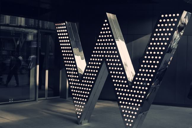 W HOTEL LONDON DOES BRUNCH: Wyld Nights & Mellow Mornings