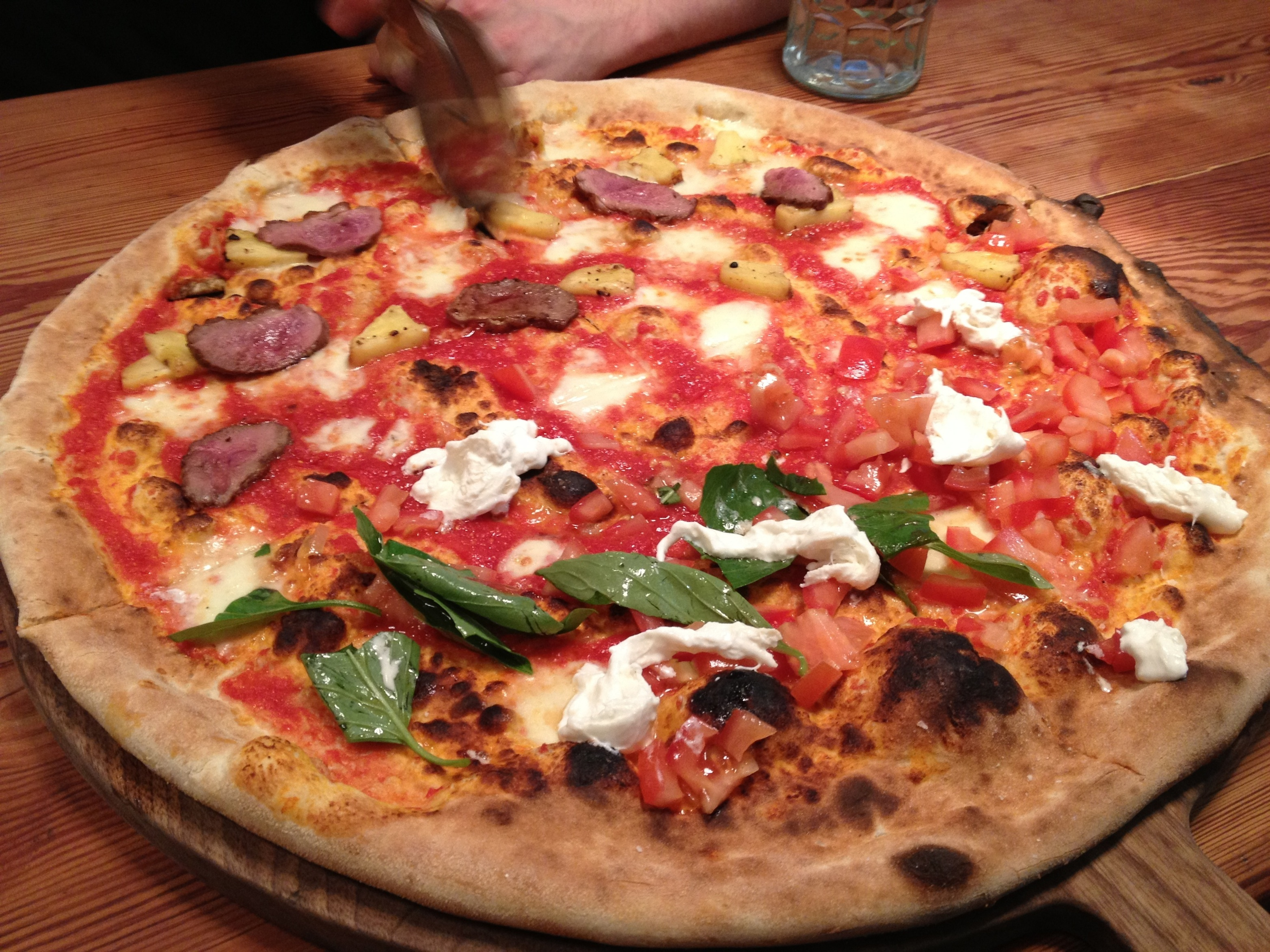 Homeslice Covent Garden Review Its Rude To Stare