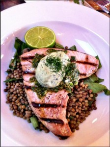 Tuna and Puy Lentils