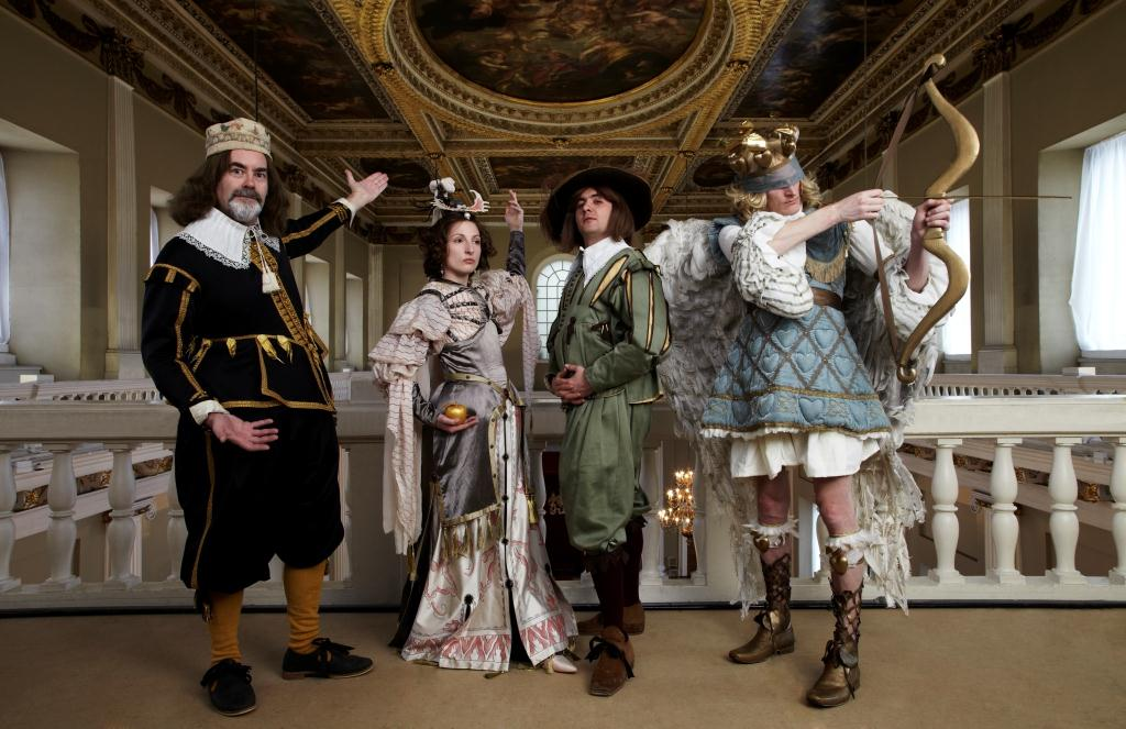 FIT FOR A KING: Royal masque exhibition at Banqueting House