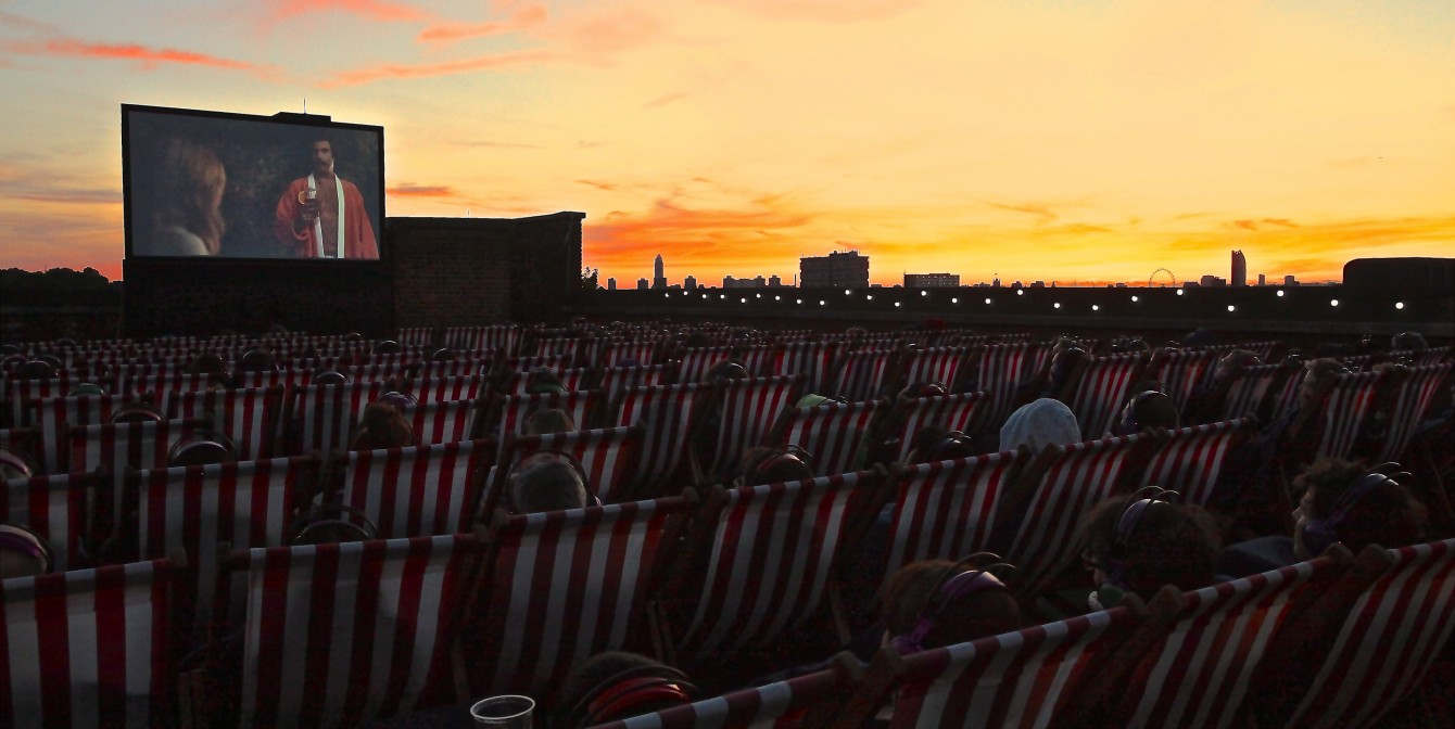 ROOFTOP FILM CLUB: London's alternative viewing experience