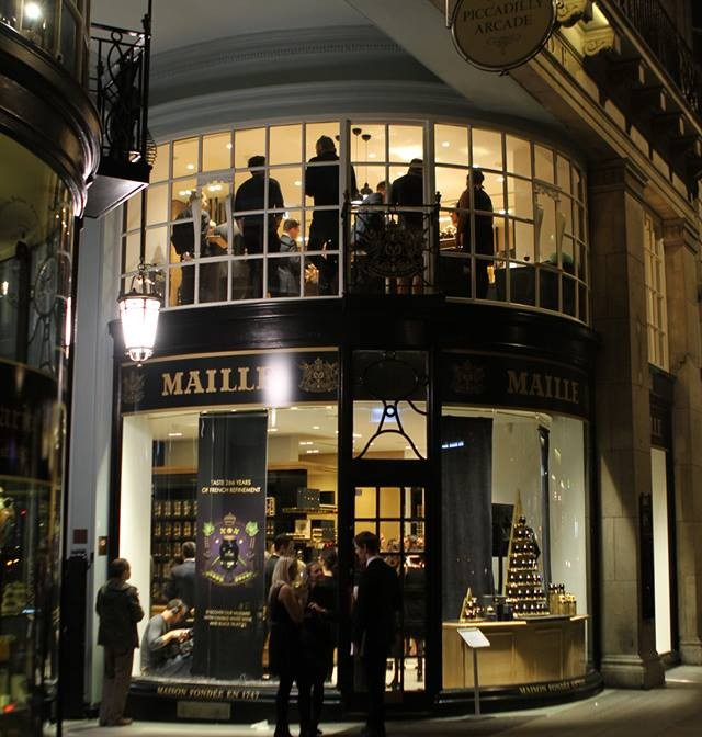 MAILLE BOUTIQUE LAUNCH: King of the mustards opens in London