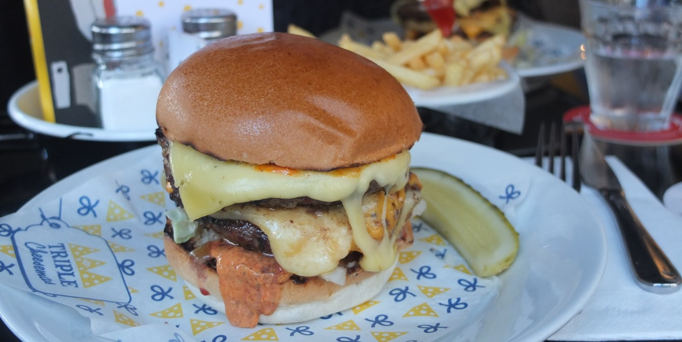 BYRON TRIPLE CHEESEMAS: The ultimate cure to festive indulgence