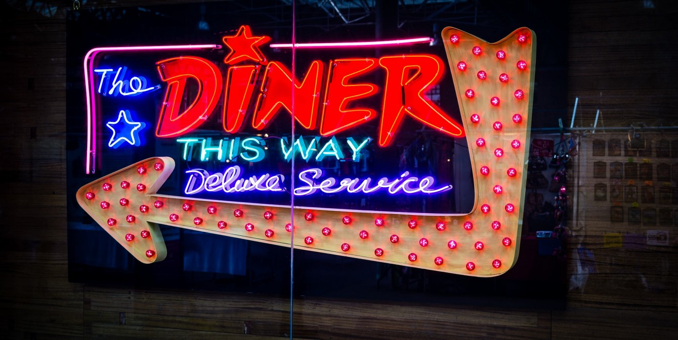 THE DINER: A bloody lot of fun
