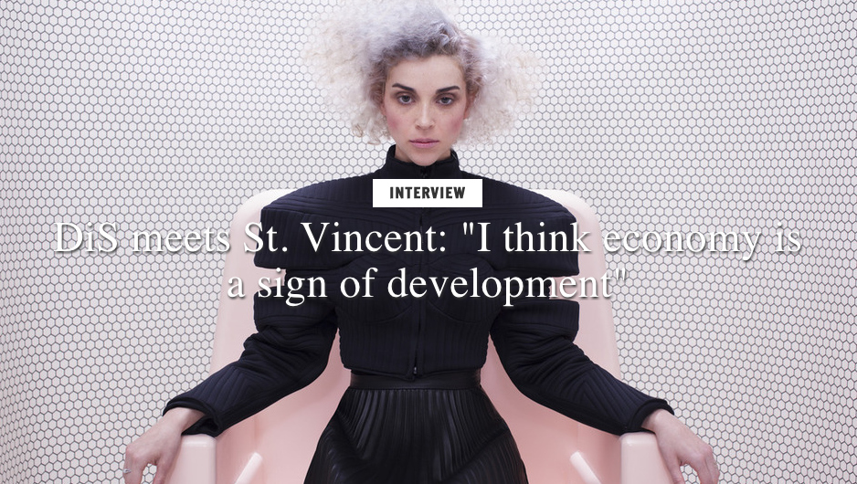 "ST VINCENT: Interview ""It feels like pressing 'restart' on the Nintendo"""