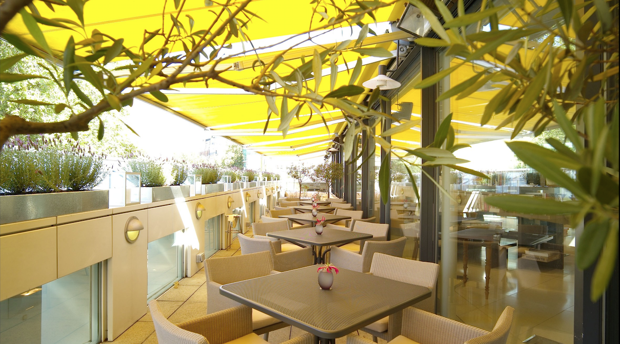 ORRERY: Provençal roof terrace in Central London
