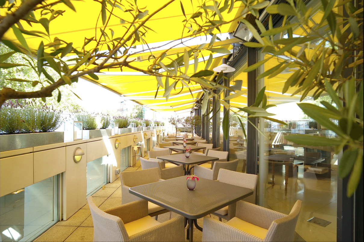 Orrery provençal roof terrace in central london it s