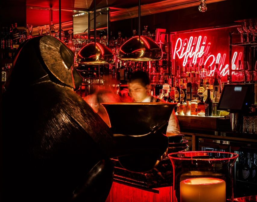 RIFIFI CLUB: Neon intimacy in Mayfair