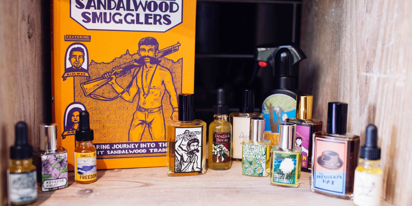 SMUGGLER'S SOUL: Gorilla Perfume launches inspired scents and graphic novel