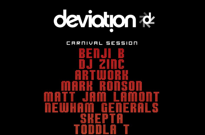 NOTTING HILL CARNIVAL: Paradise by way of Kensal Green & XOYOLOVES presents Eton Messy & Deviation