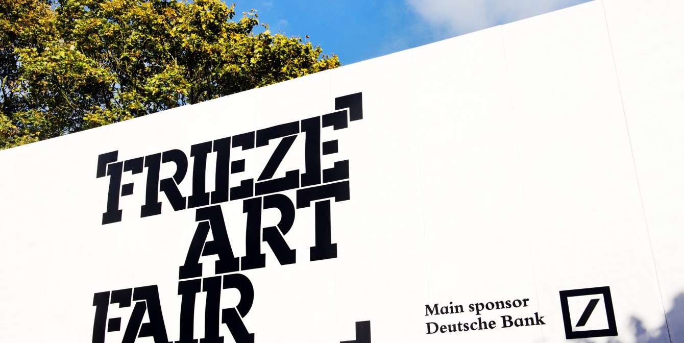 FRIEZE LONDON: Coming This Week