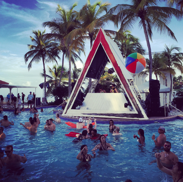 BACARDÍ TRIANGLE: Sun, sea, sand, music and BACARDÍ the perfect ingredients for a most epic music travel adventure…
