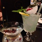 The M Martini and Air Force Ten Cocktail