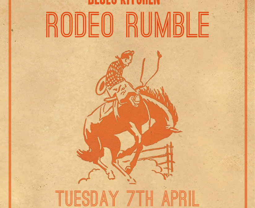 THE BLUES KITCHEN RODEO RUMBLE: Bucking Bronco For Charity