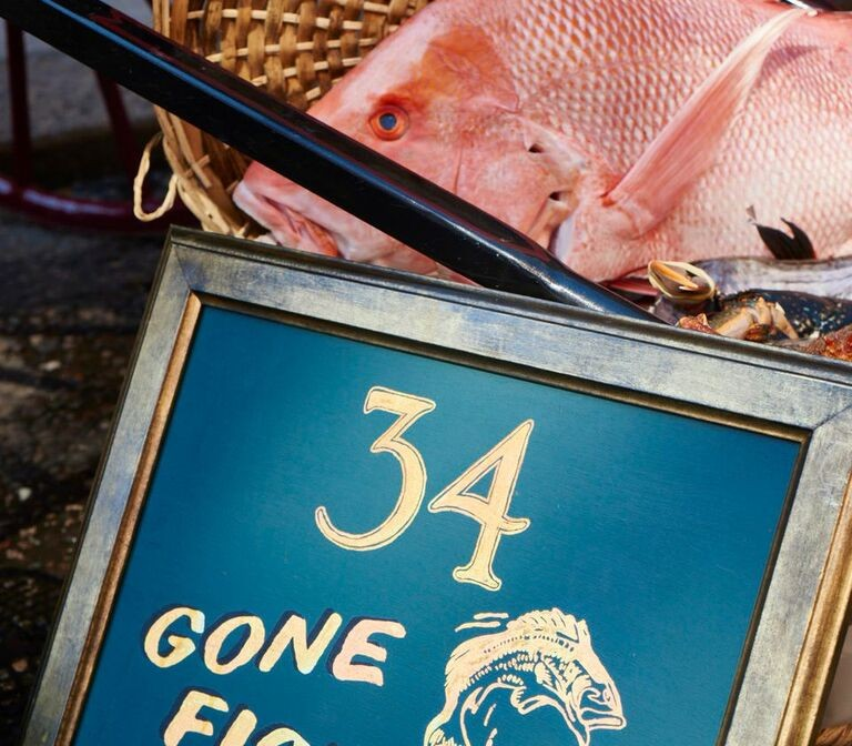 34 GONE FISHING: Ben Orpwood pops up for a 6 day stint