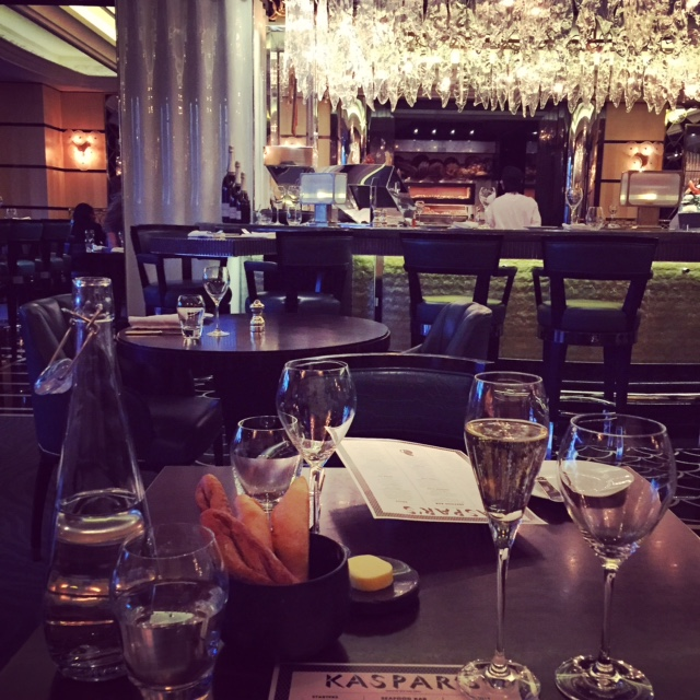 KASPAR'S SEAFOOD BAR AND GRILL: Divine dining at The Savoy