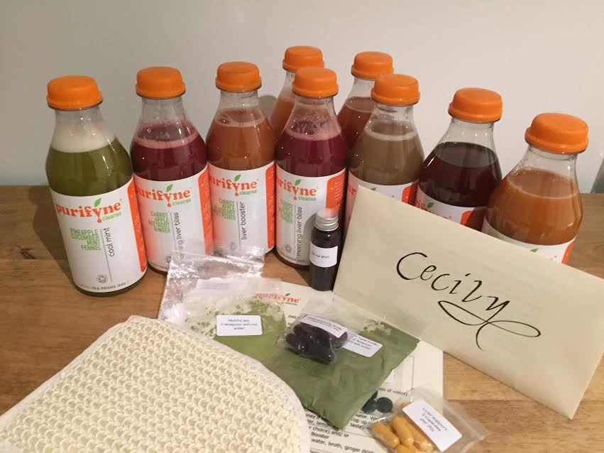 PURIFYNE: 5 day juice cleanse, review