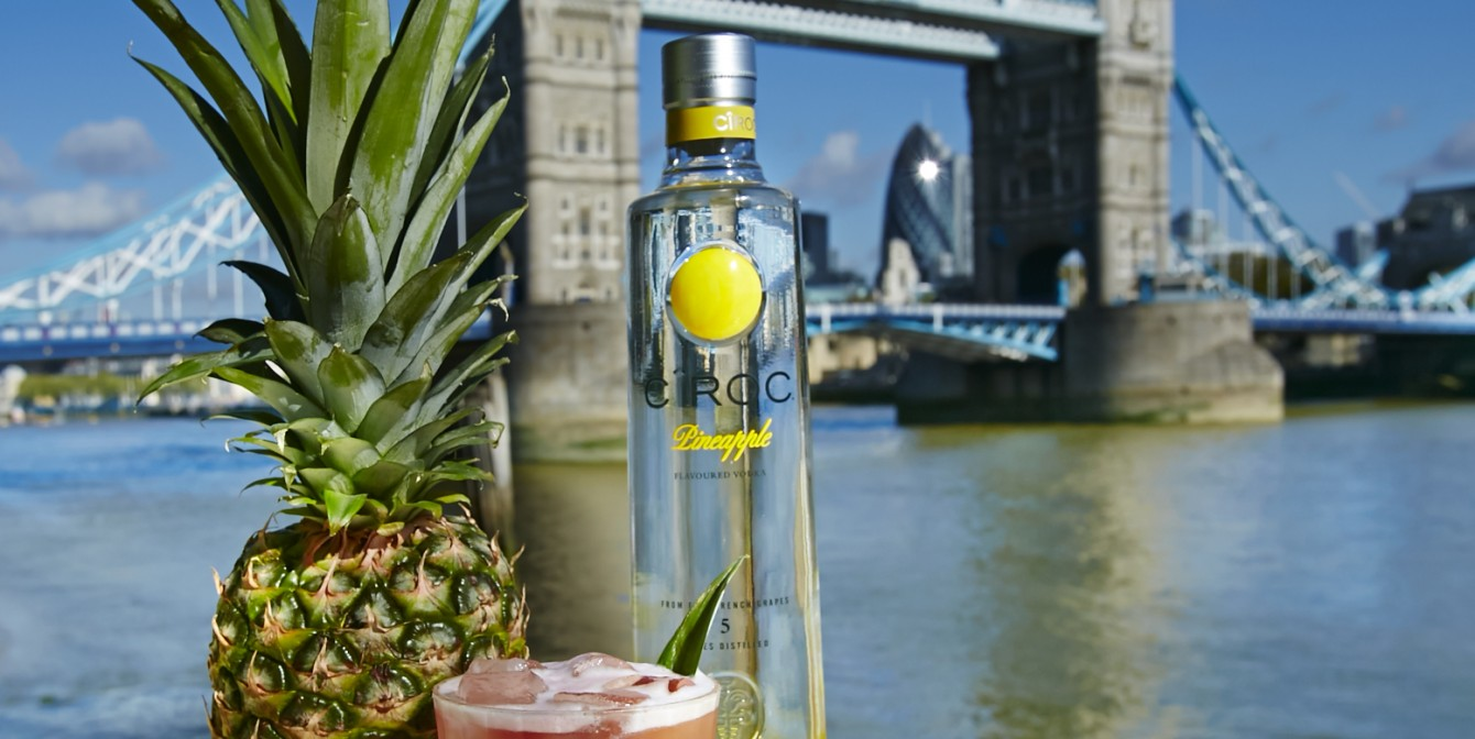 CIROC AT LONDON RIVIERA: 5 month boutique pop-up on the Southbank this Summer