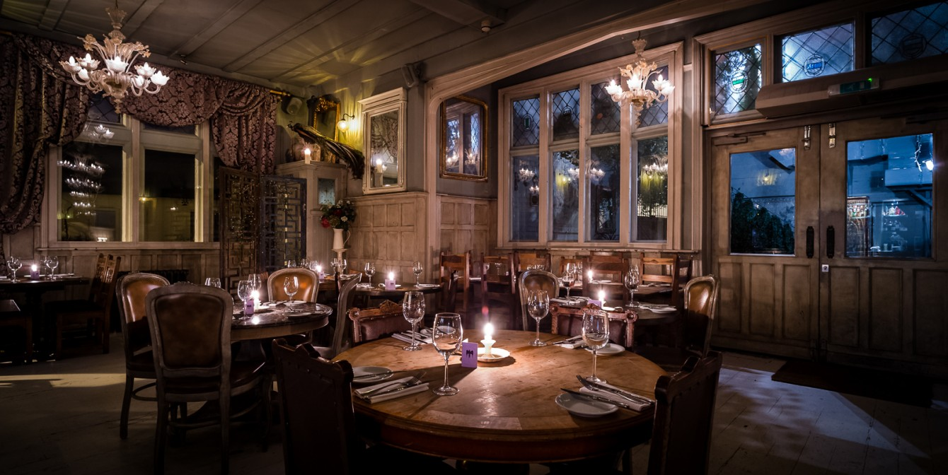 PARADISE BY WAY OF KENSAL GREEN: Dining & Drinking in Paradise