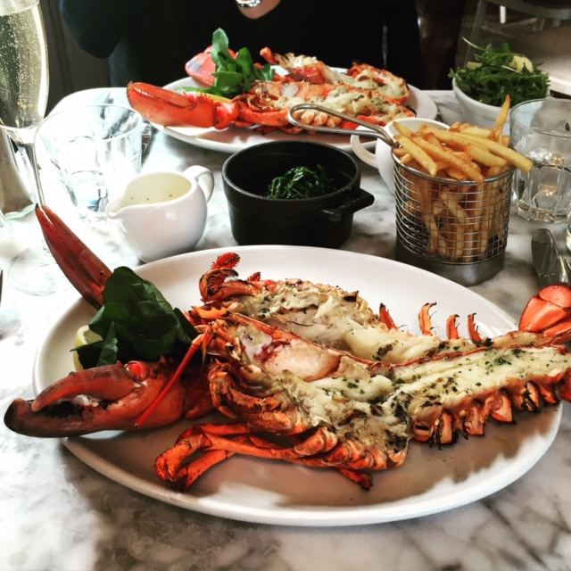 KETTNERS: Champagne! Lobster lunch! Glamour!