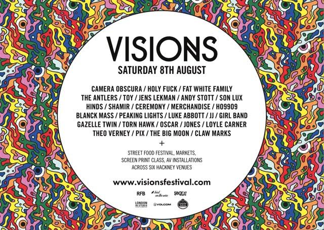 VISIONS FESTIVAL 2015: Celebrating music, food, art & creativity, Aug 8th