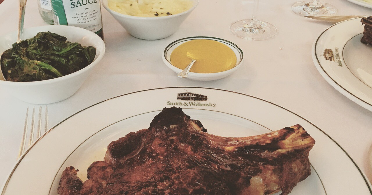 SMITH & WOLLENSKY: A welcome addition to London for steak lovers!