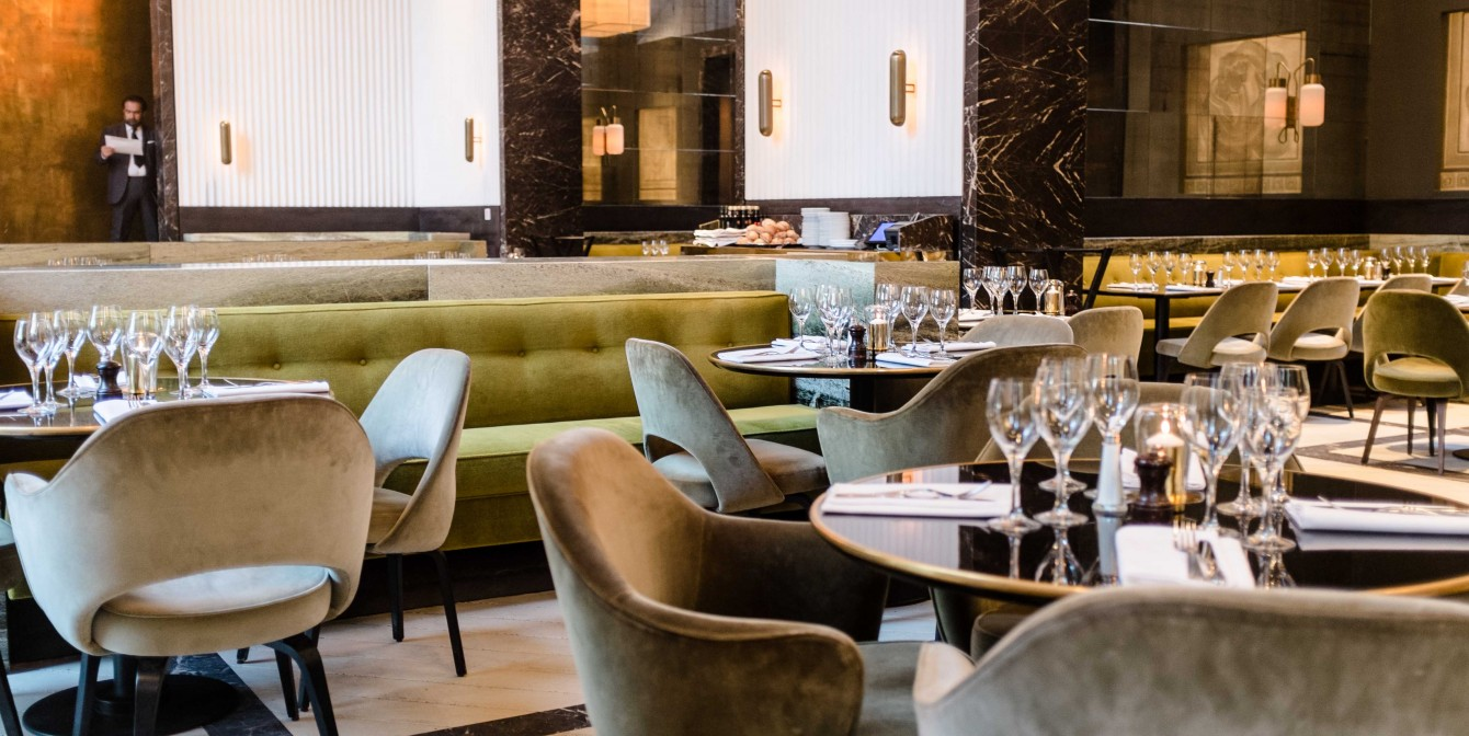 MONSIEUR BLEU – Eclectic Cuisine  Its Rude To Stare