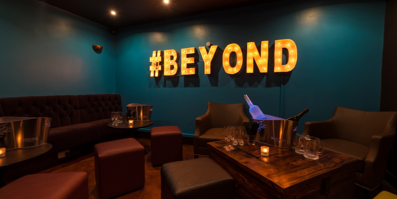 BEYOND LONDON: New Late Night Basement Bar & Restaurant Opens in High Street Ken