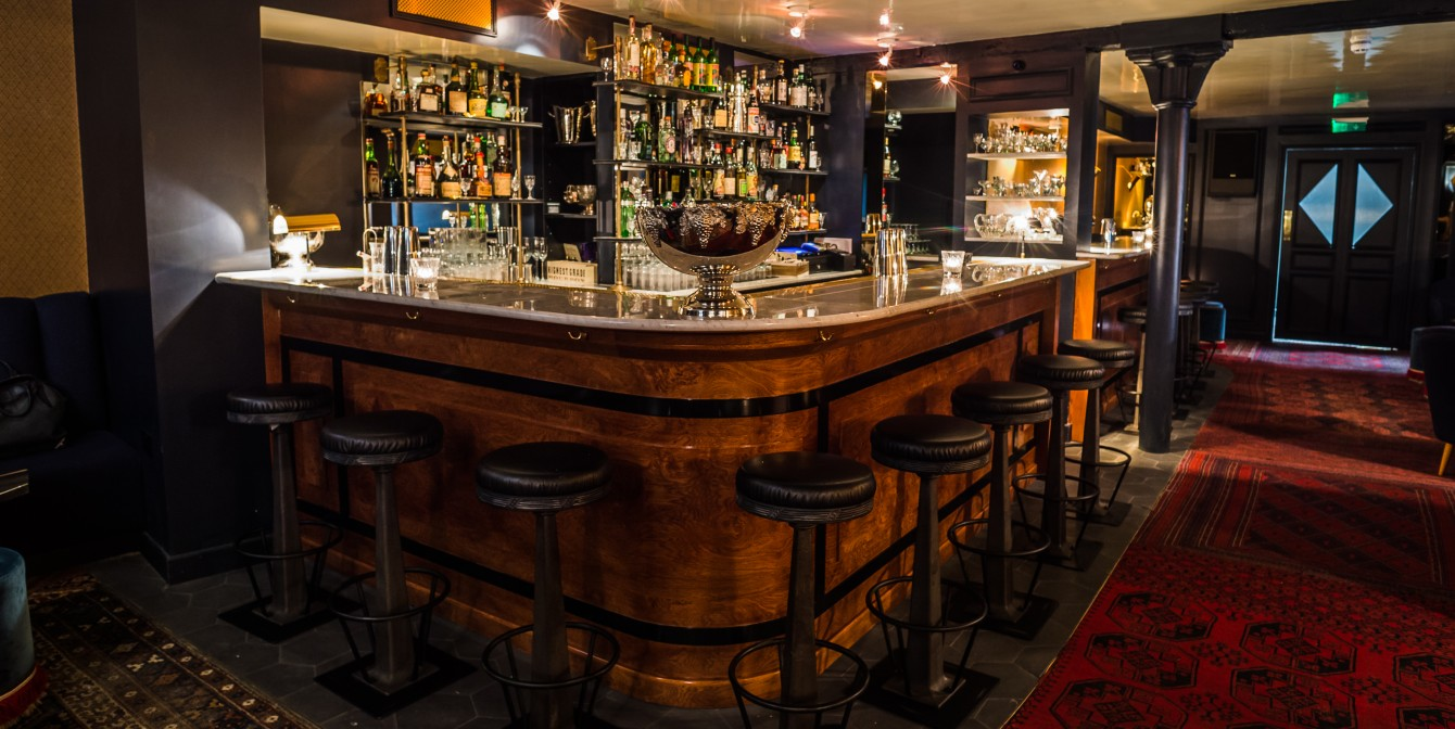 JOYEUX BORDEL: classic french cocktail bar adds to East London charm