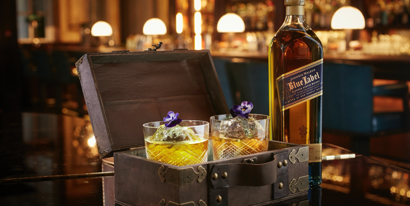 JOHNNIE WALKER BLUE: Brings the joy of sharing this Valentine's Day with The Perfect Encounter!