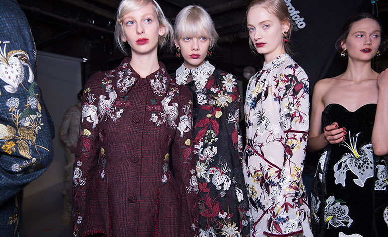 ERDEM A/W16: Living in 1960s Paris