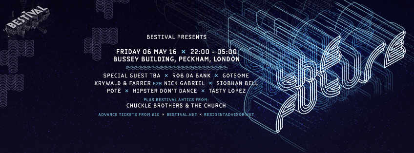 BESTIVAL PRESENTS: 'The Future' at Bussey Building.