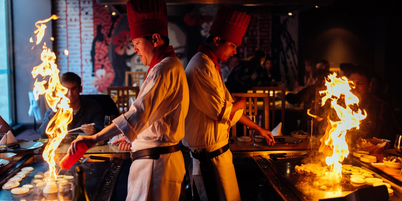 TEPPANYAKI SENSATION: Benihana Launches New Wagyu Menu