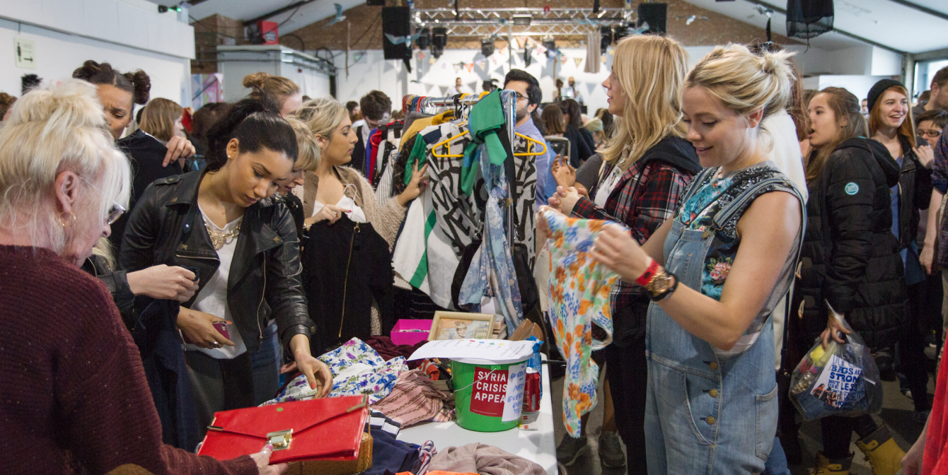RUMBLE IN THE JUNGLE: UK's best celebrity jumble sale returns for it's firth year – 14th May