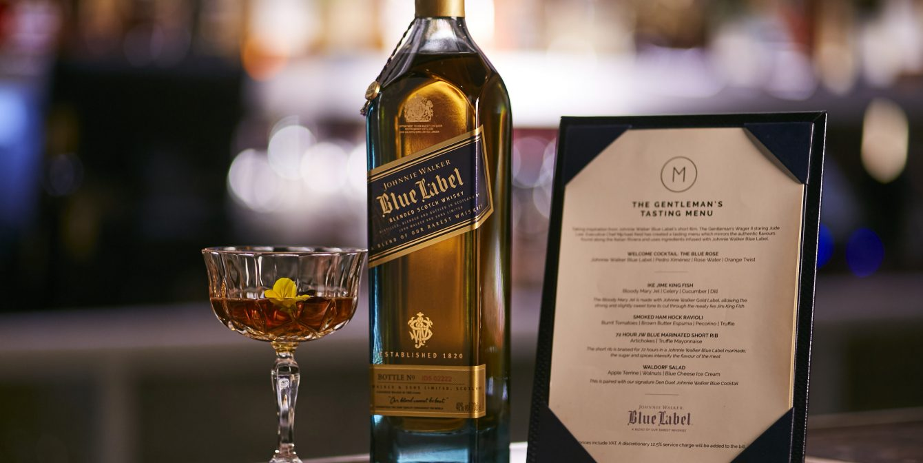 M RESTUARANT VICTORIA: Take daddy out for a feast and gift him with a personalised bottle of whisky this Father's Day