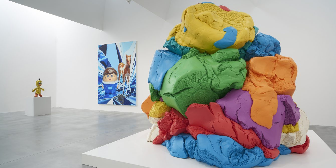 JEFF KOONS, NOW: Making the ordinary evocative